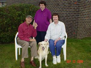 BUCHANANFPC PHOTO (RENEGADE, MARTIN, CINDY, DAUGHTER)